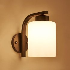 Wall light Nordic ceiling light American Korean continental corridor adhering the aisle balcony fitting room Foyer iron round Lamps - intl