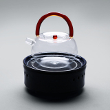 Sale Was Kiln Coarse Pottery Electric Ceramic Stove Pure Handmade Heat Resistant Glass Cook Teapot Kung Fu Tea Steam Home Cook Teapot Online On China