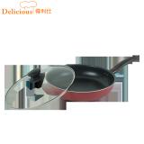 Price Comparisons Of Was Li Shi 28Cm Cuffs With Lid Flat Pot Frying Pan Non Stick Pot No Fumes Wok Electromagnetic Furnace General Pot