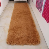 Sale Washable Thickened Shaggy Mat Carpet Soft Solid Area Rug Anti Slip Carpets Fit For Living Room Bedroom Long Plush Door Floor Mat 50X200Cm Intl Not Specified