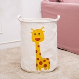 Best Offer Waterproof Animal Canvas Sheets Laundry Clothes Basket Folding Storage Box A Intl