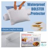 Review Waterproof Bolster Encasement Bed Bug Proof Bolster Cover Protects Against Dust Mite Bacteria Allergens Polyester Jersey Fabric Bolster Protector Dream Comfort