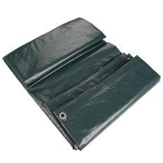 Waterproof Tarpaulin Ground Sheet Camping Cover Lightweight Dark Green 3.5cm x 3.5 cm(Export)