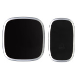 Compare Price Waterproof Wireless Door Bell 36 Melody Home Smart Alarm Black On Hong Kong Sar China