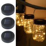Buy Weisizhong Solar Powered Mason Jar Lights 3 Pack Garden Decor Mason Jar Lights 20 Led Solar Powered Fairy Pendant Light Best For Regular Mouth Mason Jar Decor Home Decoration Lighting Jars Not Included Intl Cheap On China