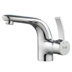 Sale Well Made Copper Mixer Tap Faucet Water Faucet High End Single Handle Deck Mounted Bathroom Sink Faucet Basin Hot And Cold Water Mixer Tap Intl Not Specified