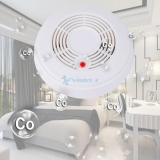 Best White 2 In 1 Alert Smoke Combination Carbon Monoxide Co Alarm Detector Home Uk Intl