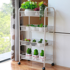 WIREKING Multi-tier Movable Plants Rack