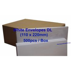 Purchase White Paper Envelope Dl Box Of 500Pcs Online