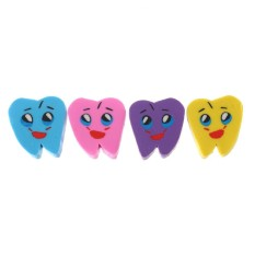 Wholesale Dental Clinic Promotional Gifts Oral Rubber Lovely Tooth Eraser Package 50 - Intl By Freebang.