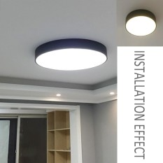 Whyus-Modern Ultra Thin LED Ceiling Lighting Lamps For Living Room Chandeliers Hall (White)