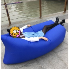 WI Super light wholesale outdoor sofa portable couch folding inflatable bed beach lounger air sofa sleeping bag - intl