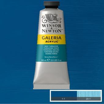 WinsorNewton Galeria Acrylic Paint (Deep Turquoise)
