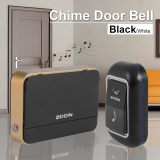 Price Wireless Chime Door Bell Doorbell Remote Control 16 Tune Song Home Black Ah217 Xcsource Original
