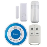 Price Comparisons Wireless Home Alarm Security Standalone Alarm Siren Flashing Sound Siren 1 Pcs Intl