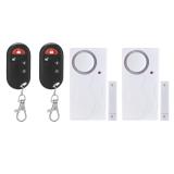 How To Get Wireless Magnetic Sensor Door Window Safety Alarm White Black Export