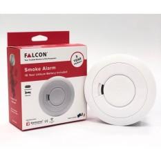 Falcon Sg Approved / 5 Yr Warranty / Made In Ireland / 10 Yr Lithium Battery Smoke Alarm / Smoke Detector Sensor.