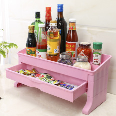 Where Can You Buy Kitchen Condiments Rack With 2 Drawers