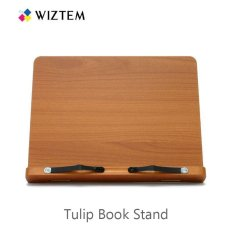 Buy Wiztem Tulip Book Stand Folding Type Promotes Proper Posture For Better Spinal Health Eye Level Reading Intl Wiztem Cheap
