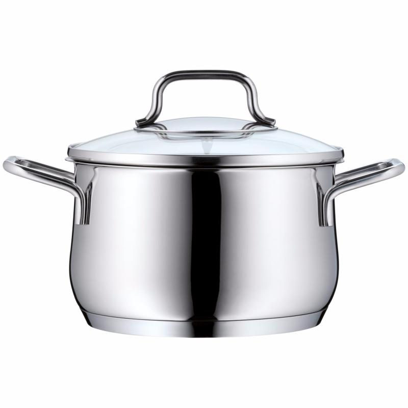 WMF Collier 16cm High Casserole with Cover Singapore