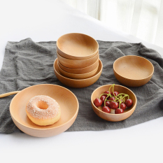 Wood Dried Fruit Storage Wooden Bowl Cheap