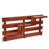Buy Wood Wall Mounted Shelf Holder Storage Rack Organizer Hanging Home Decor Brown Intl Online China