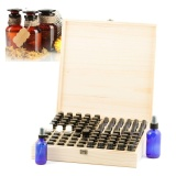 Best Offer Wooden 87 Bottle Essential Oil Storage Box Case Container Aromatherapy Organizer