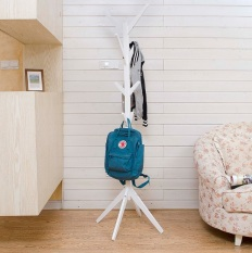 Discount Wooden Coat Stand Clothes Hanger White Diycottage4U