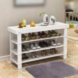 Price Comparisons For Wooden Shoe Rack Stool White 60Cm
