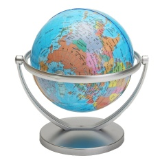 Price World Globe Earth Ocean Atlas With Rotating Stand Geography Educational Student Intl Oem Original