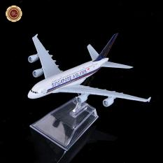 WR Singapore Airlines Airbus A380 Metal Plane Model Valentines Gift Ideas for BF - intl