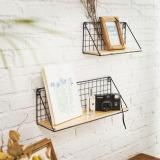 List Price Drilling Free Iron Craft Storage Basket Oem