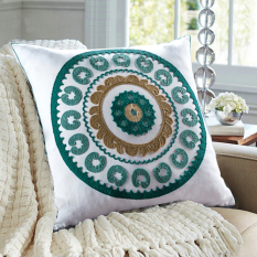 Price Wyatt Source Style Retro Nostalgia Mediterranean Cushion Pillow On China
