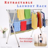 Best Deal X Beam Type C 1 5M To 2 4M Cloth Laundry Drying Rack Retractable Stainless Steel Space Saving Storage Durable