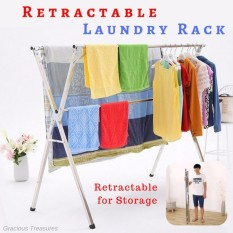 Compare Price X Beam Type C 1 5M To 2 4M Cloth Laundry Drying Rack Retractable Stainless Steel Space Saving Storage Durable On Singapore