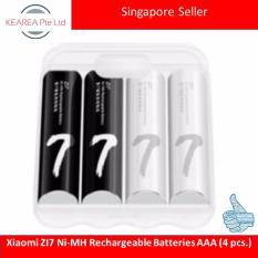 Price Xiaomi Zi7 Ni Mh Rechargeable Batteries Aaa 4 Pcs Xiaomi