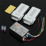 Y B24 2N1 220V 4 Ch Rf Digital Wireless Remote Control Light Switch 2 Remote Control And Receiver 110V Price Comparison