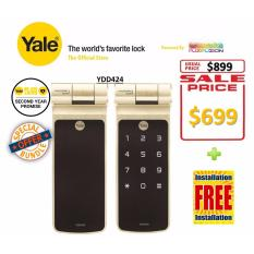 List Price Yale Digital Biometric Tubular Deadbold Lock Ydd424 Yale