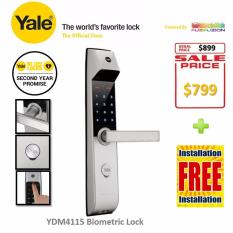 Buy Yale Digital Door Lock Ydm 4115 On Singapore