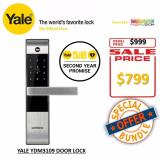 Sale Yale Premium Proximity Card Digital Door Lock With Anti Panic Ydm3109 On Singapore
