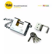 Yale Solid Brass Lock C W Bracket Chain 5 Keys Y1800 80 117 1 Best Price