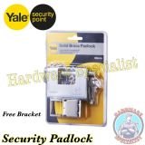 The Cheapest Yale Solid Brass Security Pad Lock 80Mm Y1800 Online