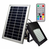 Buy Y H 56 Leds Solar Flood Light 50W Colour Changing Led Outdoor Security Floodlight Ip65 Waterproof Remote Control Dimmable Auto Induction For Decking Lighting Patio Lighting Intl Oem Online