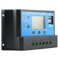 Buying Y H Pwm 30A Solar Charge Controller 12V 24V Auto Regulator Over Load Protection Light Timer Lcd Display Dual Usb 5V