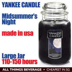 Low Price Yankee Candle Midsummer S Night Large Jar 110 150 Hours
