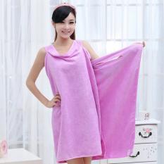 Ybc Wearable Body Wrap Towel Super Absorbent Microfiber Bath Beach Towel Purple By Your Bestchoice.