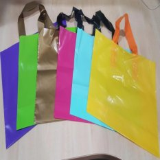 Where To Buy Yellow 30Cm X 20Cm Ldpe Soft Loop Handle Bag Loop Shopping Bag Plastic Carrier Local Seller
