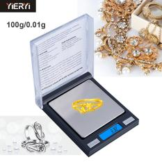 Coupon Yieryi 100G 01G Electronic Pocket Small Cd Box Jewelry Scale Electronic Weighting 01 100G Digital Scales Intl