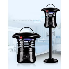 Yika Electric Mosquito Fly Bug Insect Zapper Killer With Trap Lamp Black New