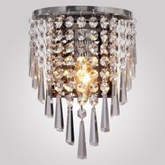 Yika Modern Crystal Wall Sconce Light Aisle Bedside Decorative Bedroom Lights Lamp